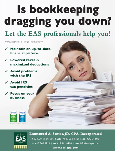 Bookkeeping Services poster image - Take advantage of our knowledgable staff of bookkeepers